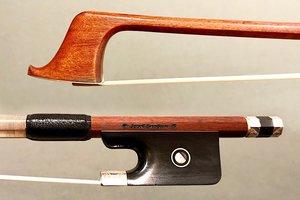 Sandner *Joseph Sandner* cello bow engraved silver/ebony