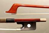 Brazilian LUAN RUY half-mounted nickel cello bow, Brazil