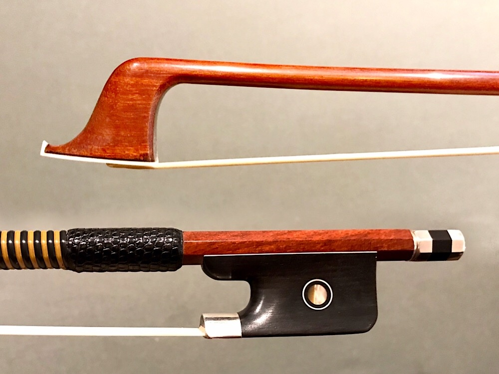 Ebony/Silver Cello Bow, better