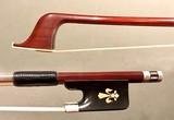 Fleur-de-lis Inlaid Cello Bow