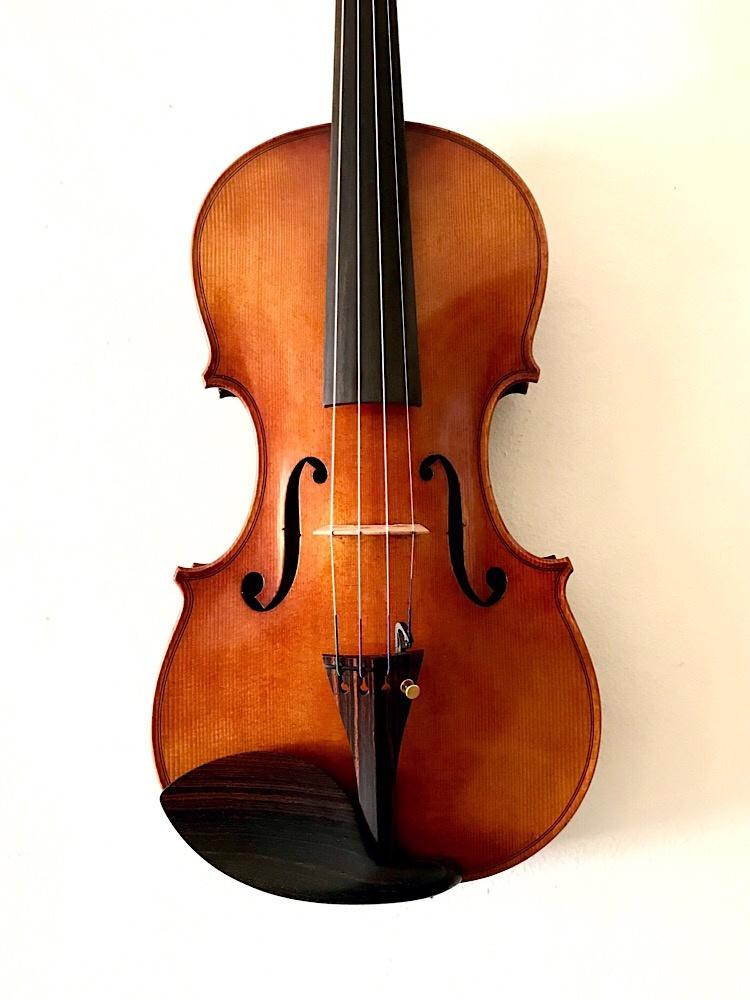 """David Chrapkiewicz / Rapkievian 4/4 """"Wren"""" violin, #52015WG162, Washington Grove, MD, USA, 2015"""
