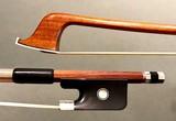 Brazilian C. SOUSA Pernambuco, ebony & silver cello bow, BRAZIL