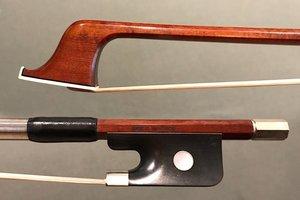L'Archet Brasil JOSÉ G. BOTTONI half-mounted nickel cello bow, Brazil