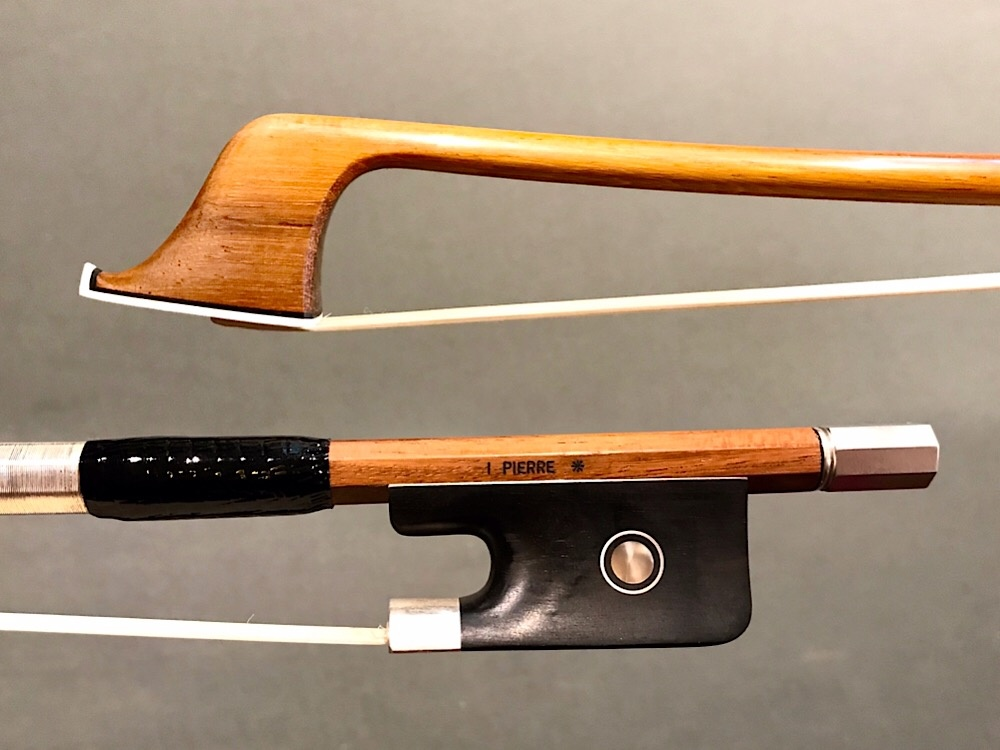 JonPaul JonPaul IPE silver 4/4 cello bow with ebony frog with Parisian eye