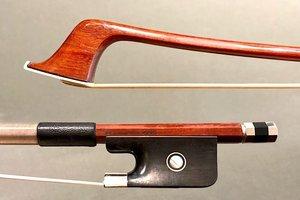 Arcos Brasil Aier SCHAEFFER Pernambuco cello bow, nickel-mounted