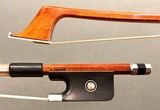 G. SOARES Pernambuco/Nickel Cello Bow, 4/4, from Brazil