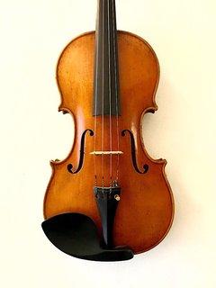 Unlabeled fine antiqued 4/4 violin