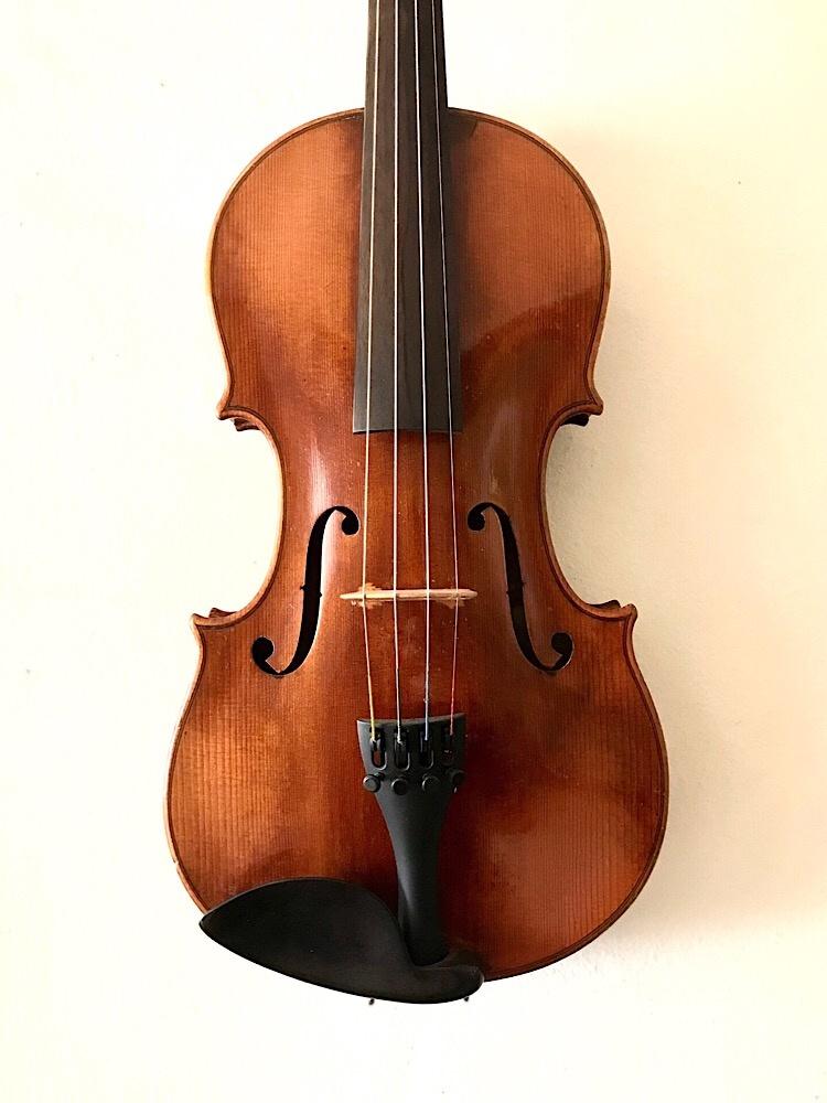 Germany, STRAD copy 4/4 violin, ca 1920