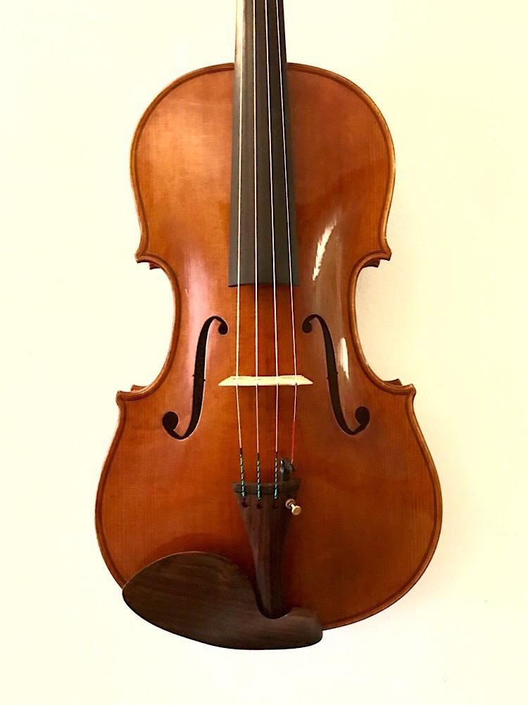 "Carlos Funes Vitanza 15.5"" viola, 2016, Storioni 1789 model, San Francisco, USA"