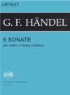 HAL LEONARD Handel, G.F. (Garay): 6 Sonatas (Violin & Piano)