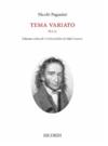 HAL LEONARD Paganini: Tema variation, op82 (violin) RICORDI