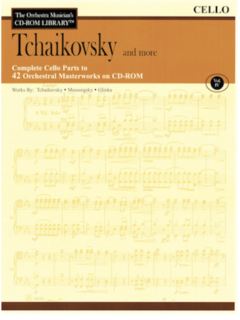 HAL LEONARD Orchestra Musician's Library: Vol.4 Tchaikowsky & More (cello)