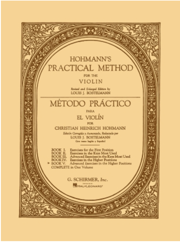 HAL LEONARD Hohmann, C.H.: Practical Violin Method Vol.5