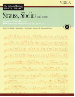 HAL LEONARD Orchestra Musician's Library: Vol.9 Strauss, Sibelius & More (viola)
