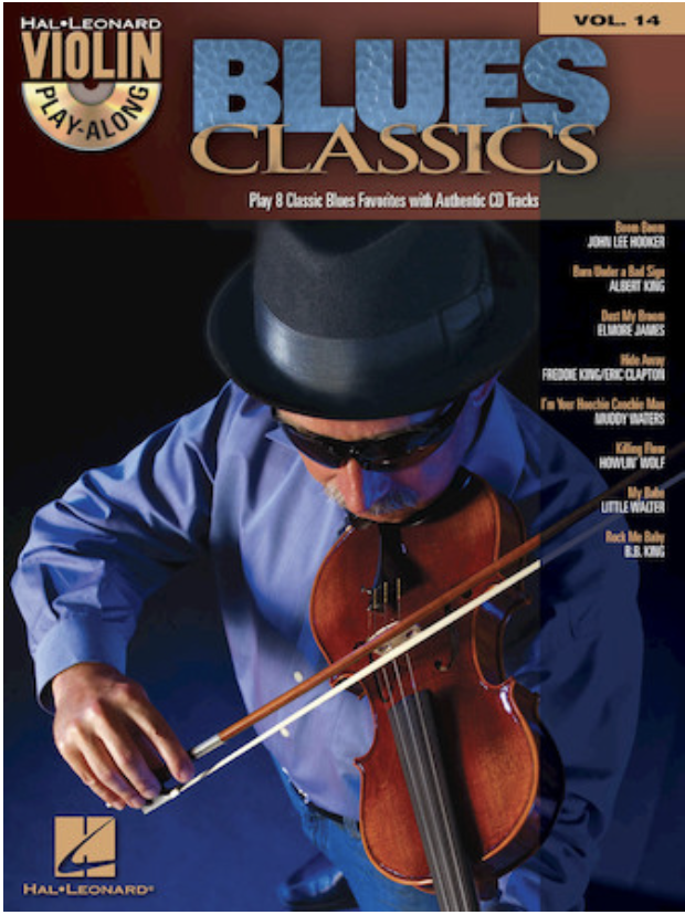 HAL LEONARD Blues Classics-Violin Play-Along Series Vol.14 (violin & CD)