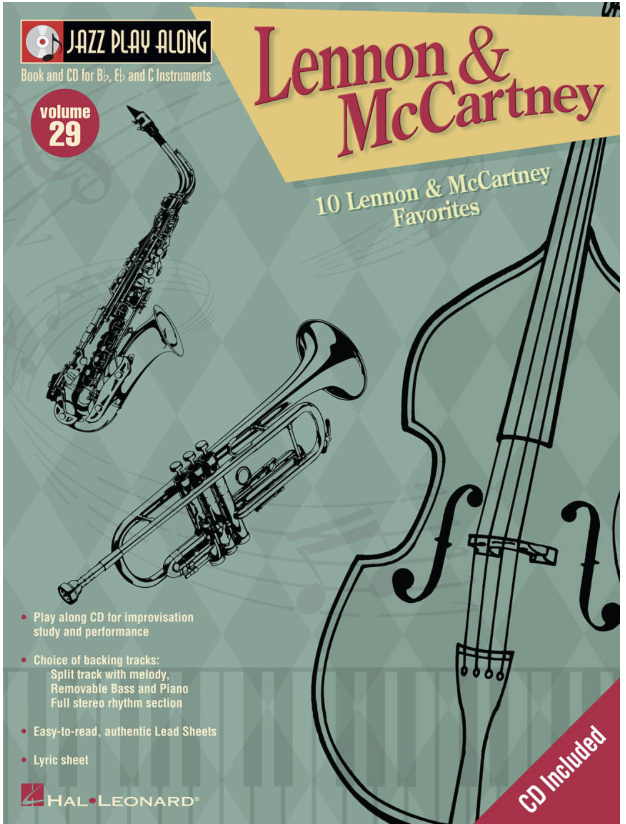 HAL LEONARD Lennon & McCartney: Jazz Play Along Vol.29 (violin & CD)