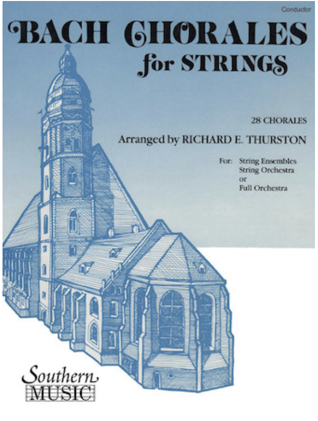 HAL LEONARD Bach, J.S. (Thurston): Chorales for Strings (violin 1)