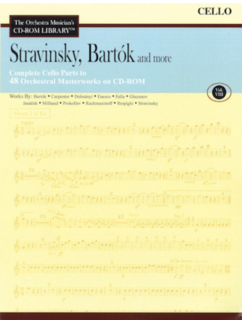 HAL LEONARD Orchestra Musician's Library: Vol.8-Stravinsky, Bartok and more (cello)
