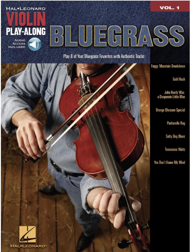 HAL LEONARD Bluegrass-Violin Play-Along Series Vol.1 (violin & CD)