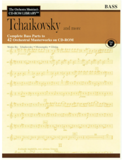 HAL LEONARD Orchestra Musician's Library: Vol.4 Tchaikowsky & More (bass)