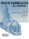 HAL LEONARD Bach, J.S. (Thurston, arr): Chorales for Strings (violin 2)
