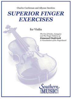 HAL LEONARD Castleman (Dawkins): Superior Finger Exercises for Violin