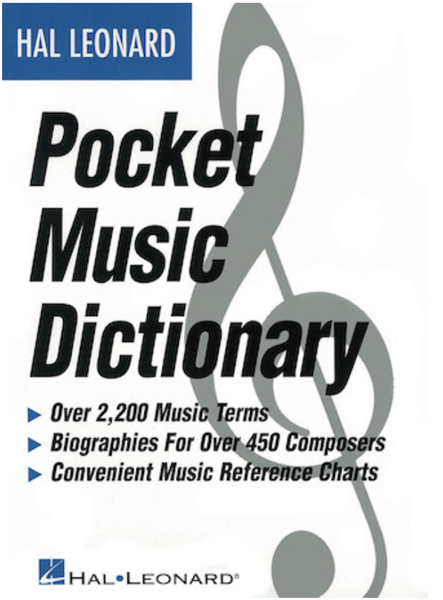 HAL LEONARD Hal Leonard Pocket Dictionary
