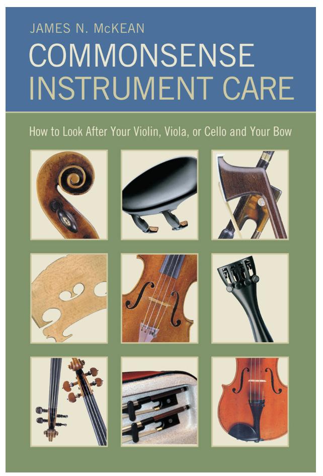HAL LEONARD McKean, James: Commonsense Instrument Care