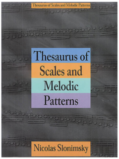 HAL LEONARD Slonimsky: Thesaurus of Scales and Melodic Patterns
