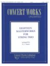 HAL LEONARD James: Eighteen Masterworks for String Trio