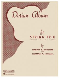 HAL LEONARD Whistler, H.: Dorian Album (violin, Cello, Piano)