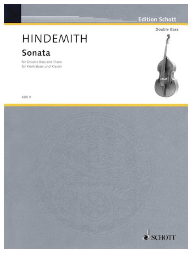 HAL LEONARD Hindemith, Paul: Bass Sonata 1949 (bass & piano)