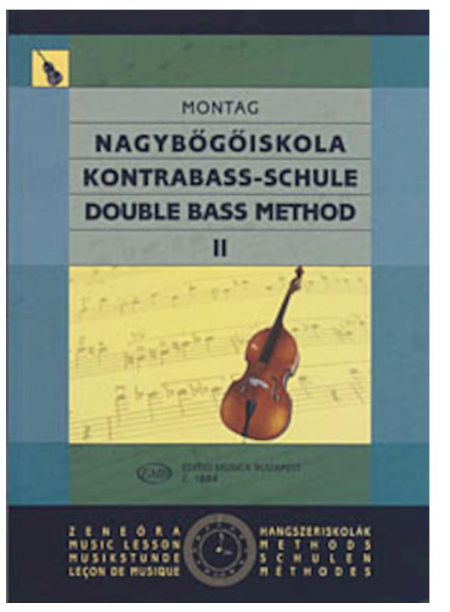HAL LEONARD Montag, Lajos: Double Bass Method, Vol.2