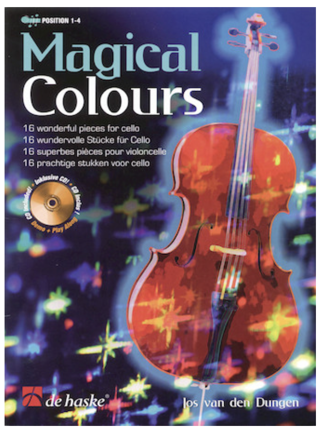 HAL LEONARD Dungen, Jos van den: Magical Colours-16 wonderful pieces for cello & CD