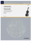 HAL LEONARD Handel: Trio Sonata Op. 2 No. 8 (2 violins, cello, piano)
