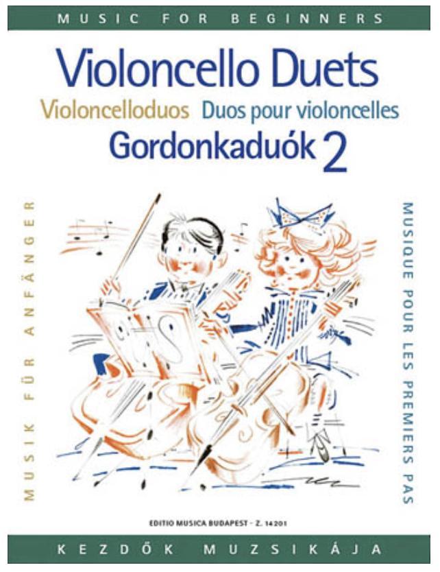 HAL LEONARD Pejsik, Arpad: Violoncello Duos for Beginners Vol.2 (2 cellos)