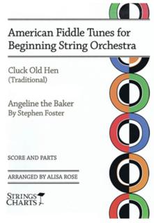 HAL LEONARD Rose, Alisa (arr): American Fiddle Tunes for Beginning String Orchestra