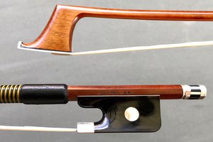 "Brazilian Valdecir ""Sousa Bows"" Classic nickel-mounted cello bow, BRASIL"