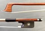 JonPaul JonPaul IPE nickel 4/4 viola bow with ebony frog with Parisian eye
