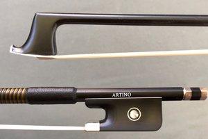 Artino Artino fiberglass viola bow, 4/4, horsehair