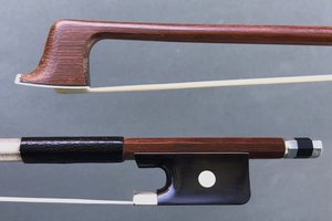Werner WERNER 4/4 Brazilwood viola bow, nickel full-mounted ebony frog, round stick