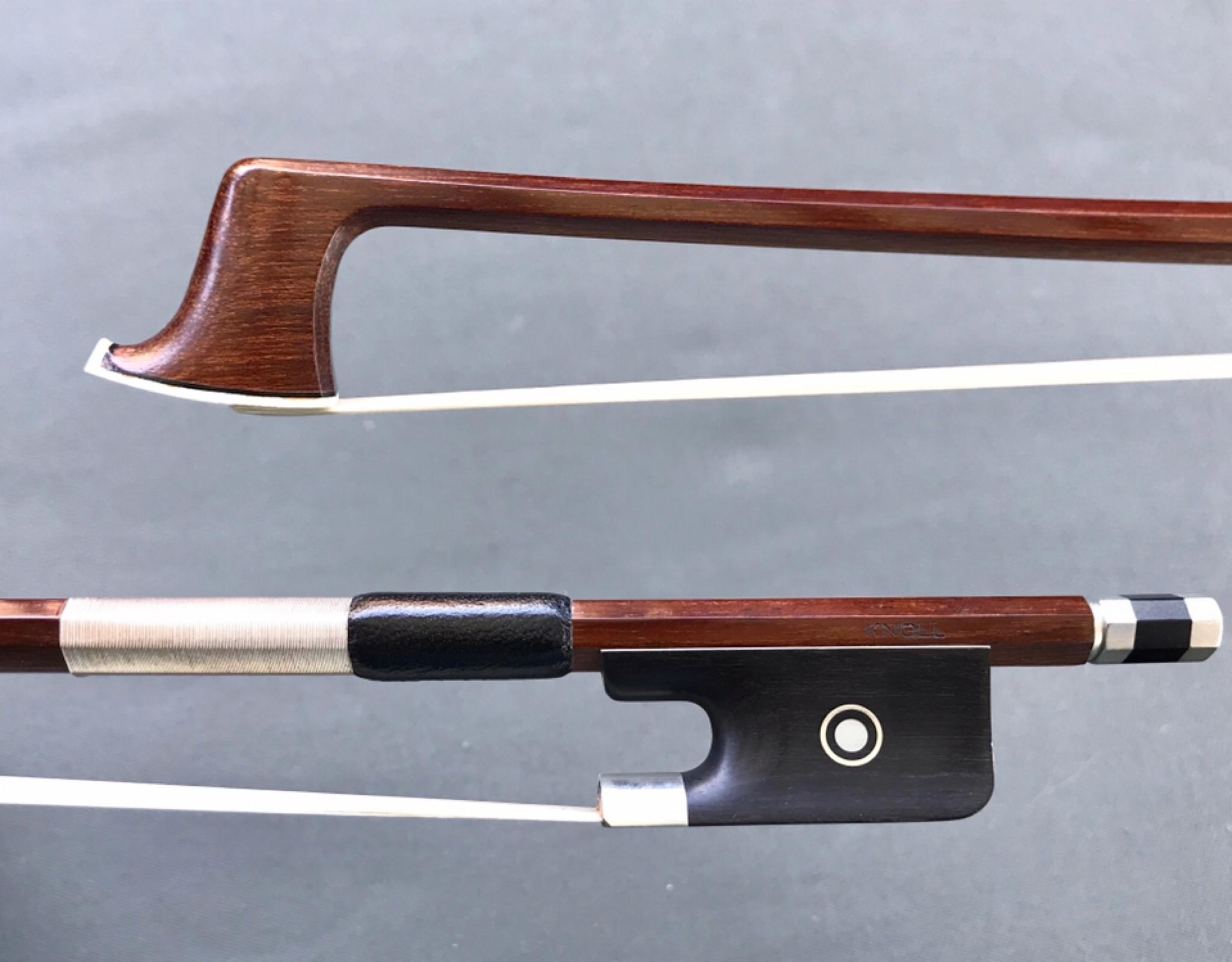 KNOLL octagonl Brazilwood viola bow, GERMANY