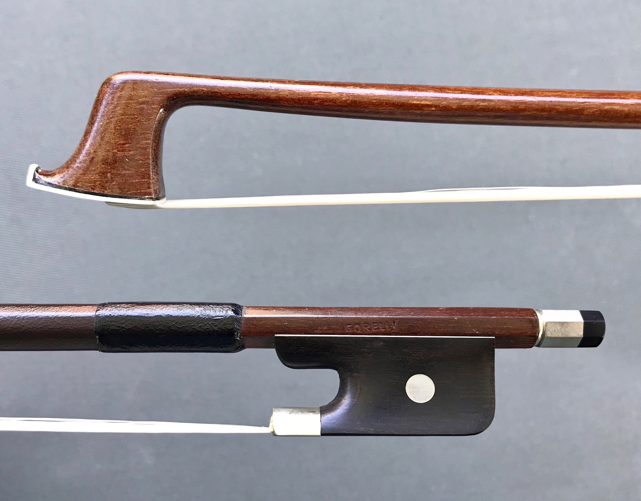 """Corelli"" viola bow, ebony & nickel"