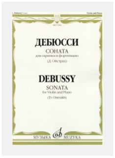 C.F. Peters Debussy: Sonata (violin, piano) MUZYKA