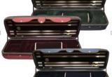 4/4 Angeli Light Oblong violin case, red ext./burgundy int.