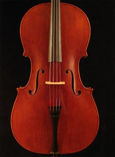 Timothy J. Jansma cello, 1999, No. 132, Fremont, Michigan, USA