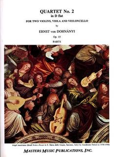 LudwigMasters Dohnanyi, Ernst von: Quartet No. 2 in Db Op.15 (string quartet)