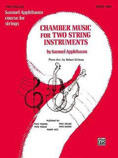 Alfred Music Applebaum, S.: Chamber Music for Two String Instruments V.2 (2 cellos)