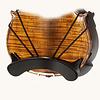 Comford Comford (Comfort) regular gold plastic violin shoulder cradle (shoulder rest), 4/4