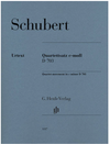 HAL LEONARD Schubert: Quartet movement in C minor D703 (string quartet) HENLE